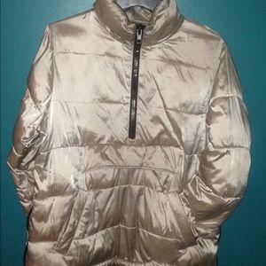 Zara Basic Metallic Coat